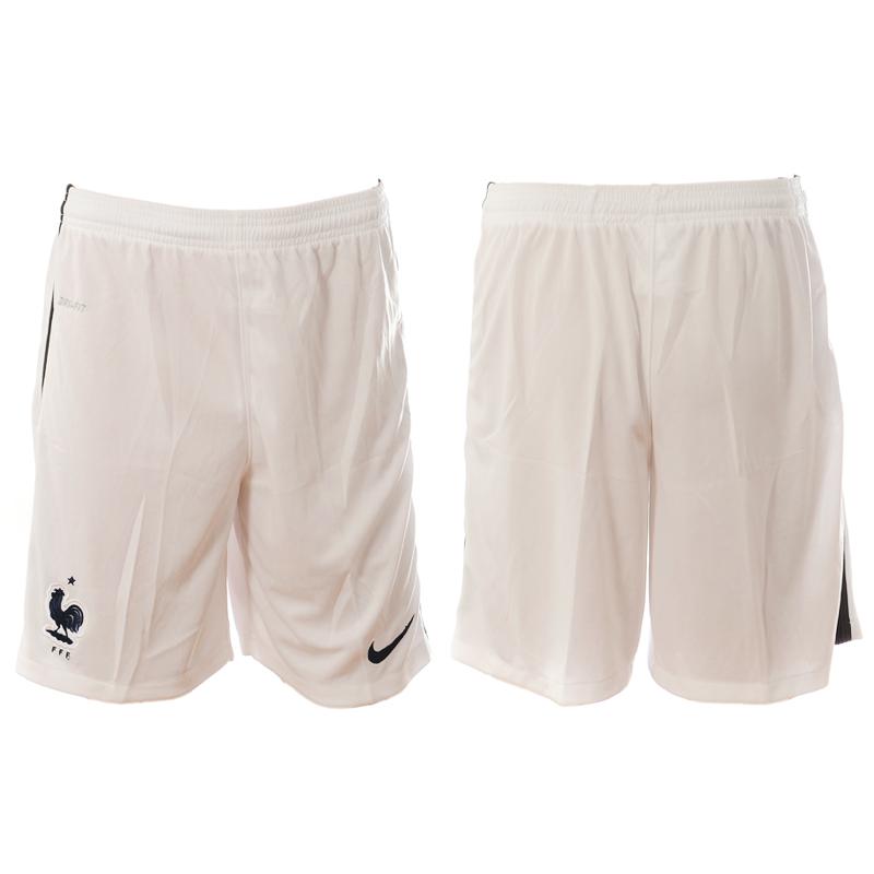 France Away Euro 2016 Soccer Shorts