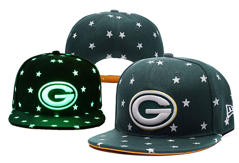 Packers Team Logo Green Adjustable Luminous Hat YD