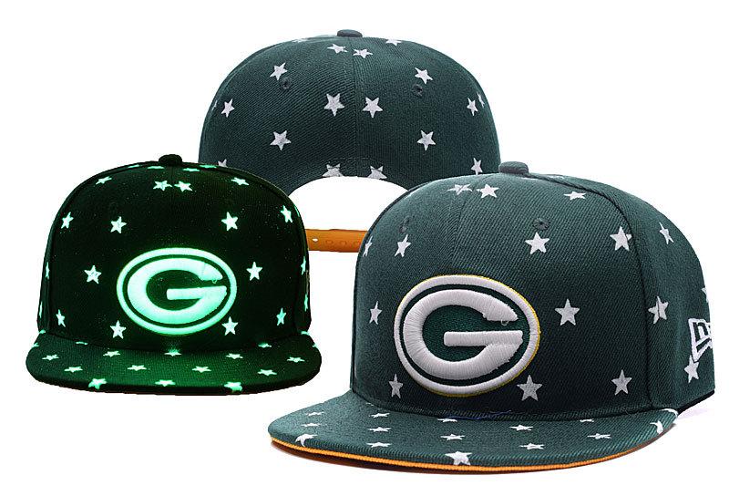 Packers Team Logo Green Adjustable Luminous Hat YD