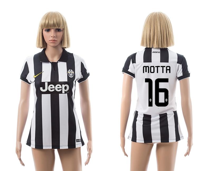 2014-15 Juventus 16 Motta Home Women Jerseys