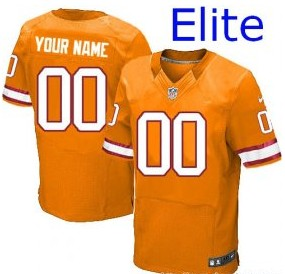Nike Tampa Bay Buccaneers Customized Elite Yellow Jerseys