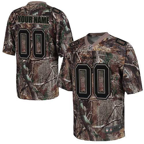 Nike Washington Redskins Customized Elite Camo Jerseys