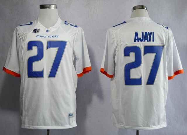 Boise State Broncos Jay Ajayi 27 College White Jerseys
