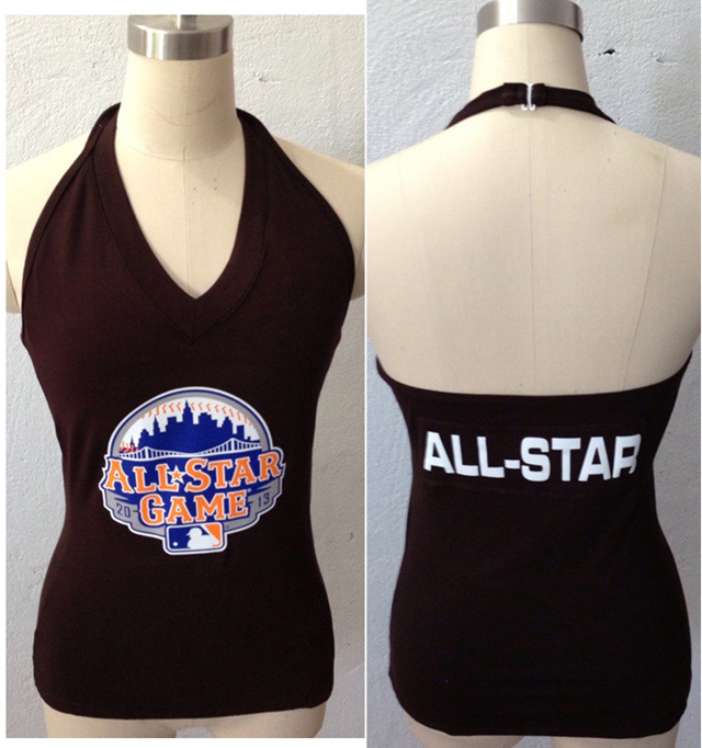 All Star Brown Women's Blown Cover Halter Top