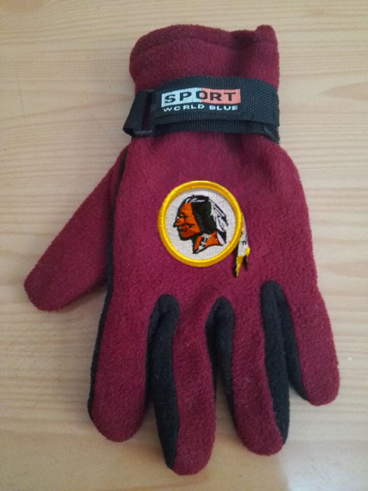 Redskins Winter Velvet Warm Sports Gloves6