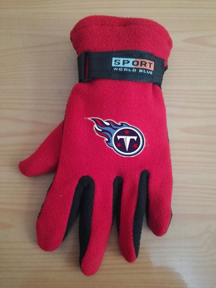 Titans Winter Velvet Warm Sports Gloves2