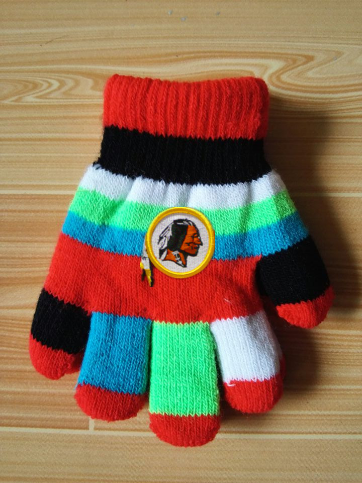 Redskins Kids Knit Gloves5