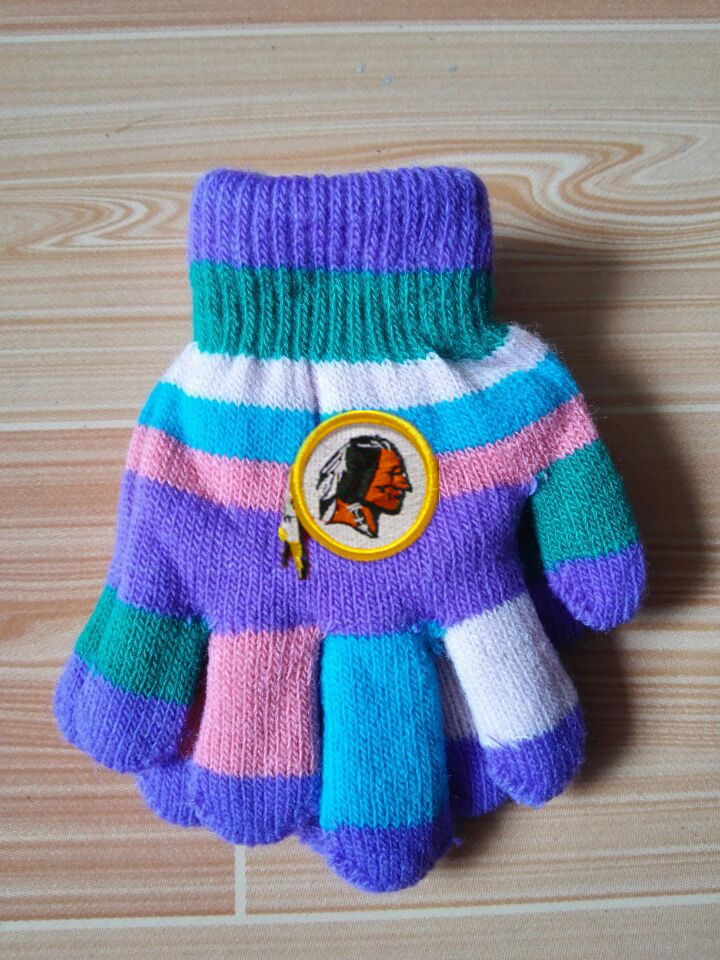 Redskins Kids Knit Gloves6