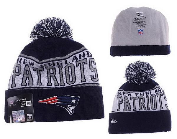 Patriots Grey Fashion Knit Hat XDF
