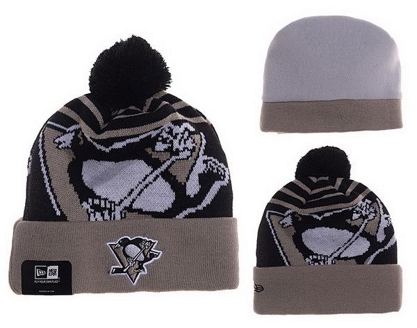 Penguins Khaki Fashion Knit Hat XDF