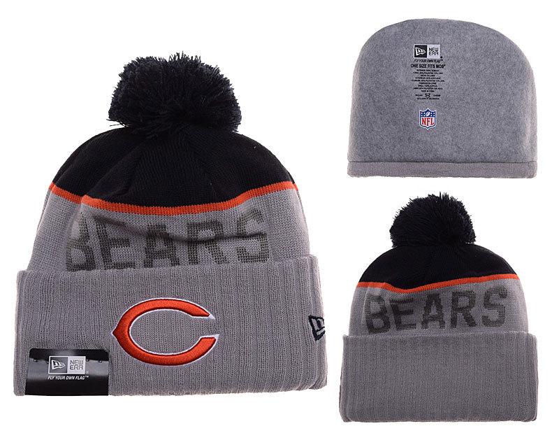 Bears Grey Fashion Knit Hat SD