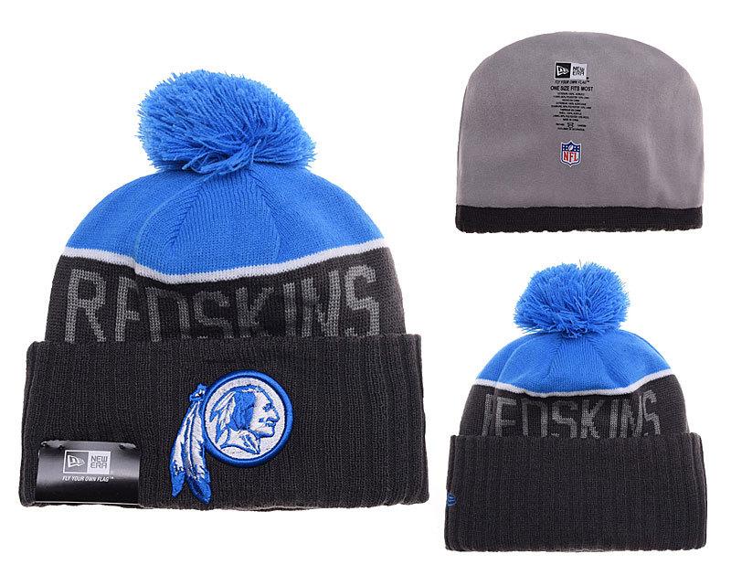 Redskins Black Fashion Knit Hat SD2
