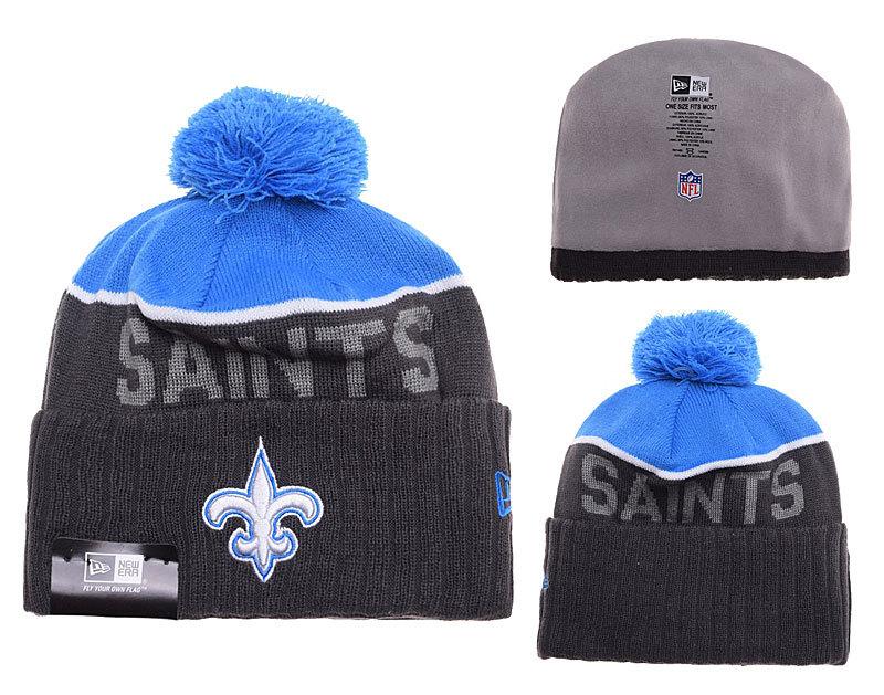 Saints Black Fashion Knit Hat SD