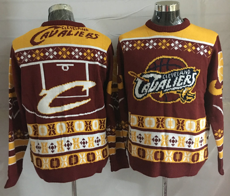 Cleveland Cavaliers Crew Neck Men's Ugly Sweater
