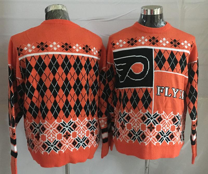 Philadelphia Flyers Crew Neck Men's Ugly Sweater