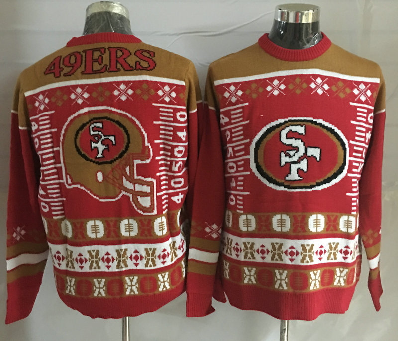 San Francisco 49ers Crew Neck Men's Ugly Sweater