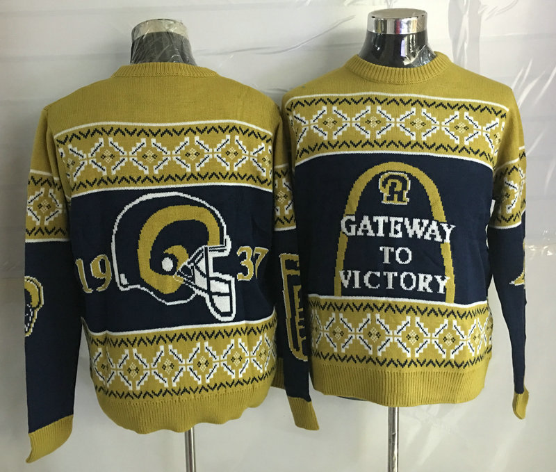 St.Louis Rams Crew Neck Men's Ugly Sweater