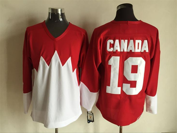 Team Canada 19 Red 1972 Commemorative CCM Jersey