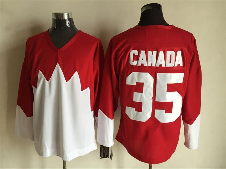 Team Canada 35 Red 1972 Commemorative CCM Jersey