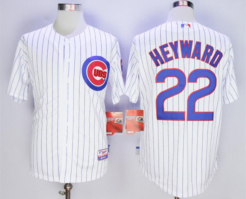 Cubs 22 Jason Heyward White Cool Base Jersey