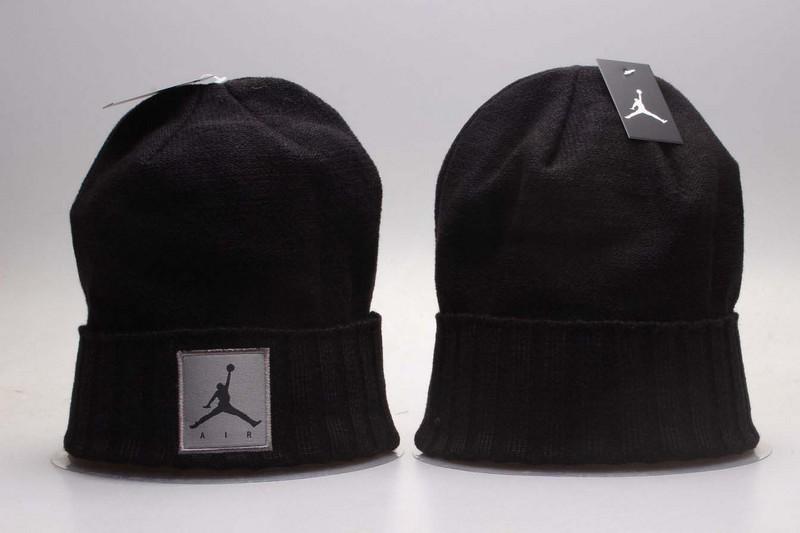 Air Jordan Black Knit Hat YP