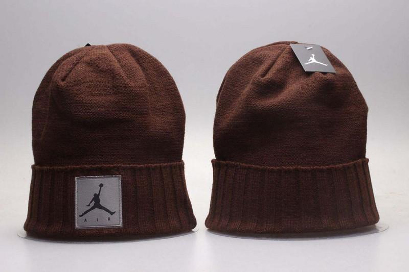 Air Jordan Brown Knit Hat YP