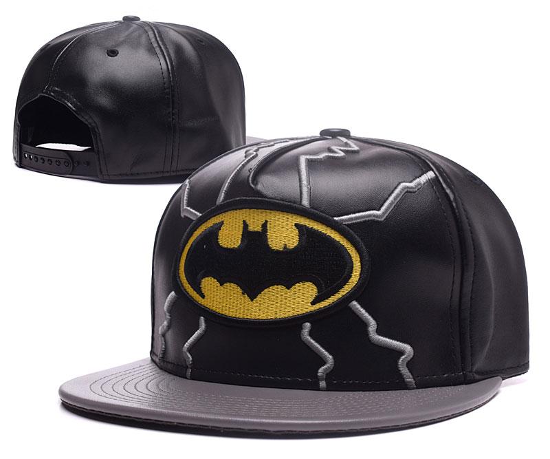Batman Fresh Logo Black Adjustable Hat YS