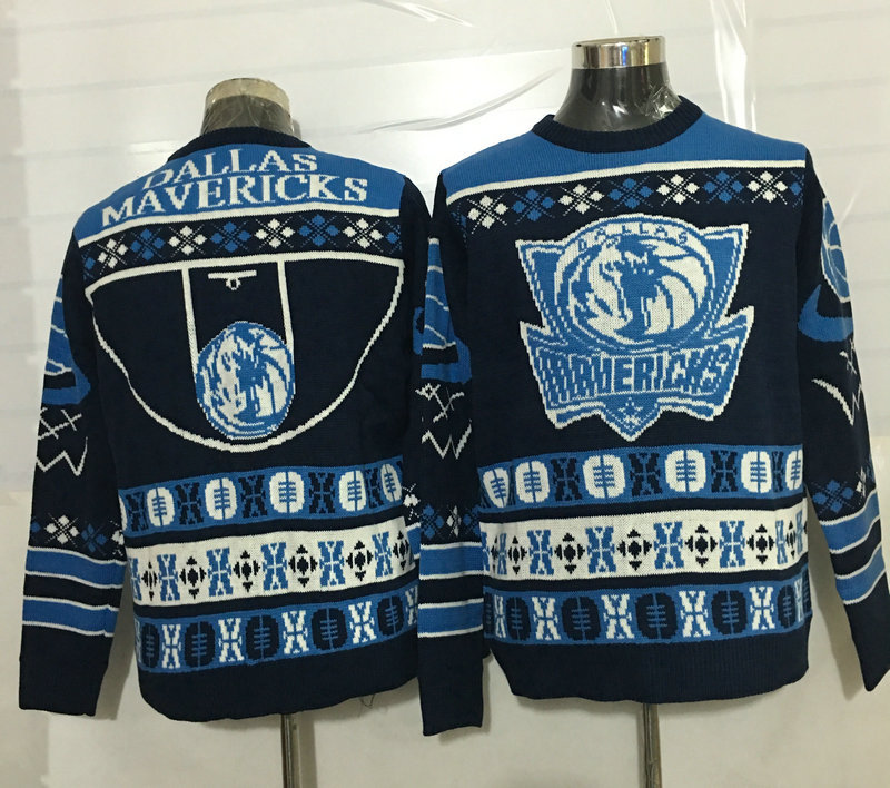 Mavericks Crew Neck Men's Ugly Sweater