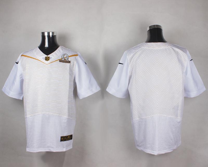 Nike NFL Blank White 2016 Pro Bowl Elite Jersey