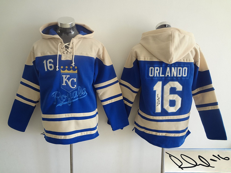 Royals 30 Yordano Ventura Royal Blue Signature Edition All Stitched Hooded Sweatshirt (2)