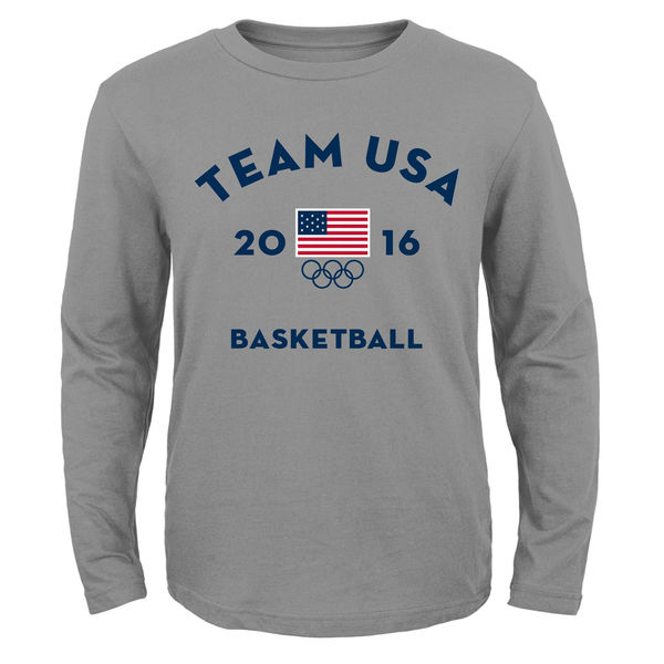 Team USA Basketball Youth Very Official National Governing Body T-Shirt Navy