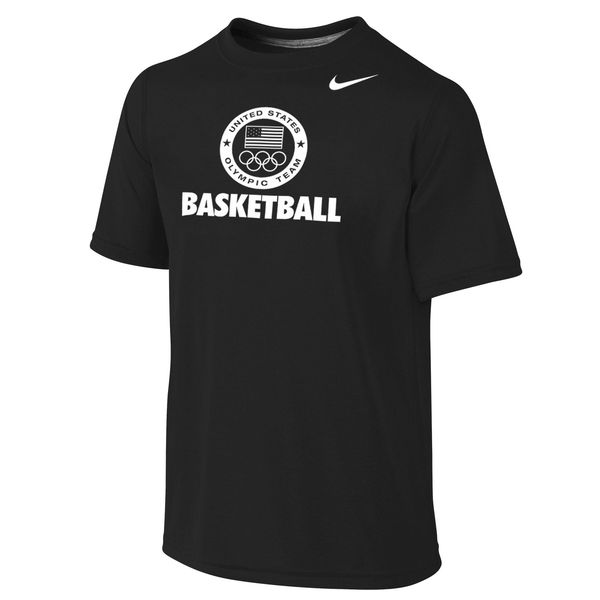 Team USA Nike Youth Legend Sport Performance T-Shirt Black