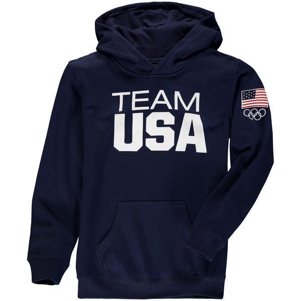 Team USA Youth Coast To Coast Hoodie Navy