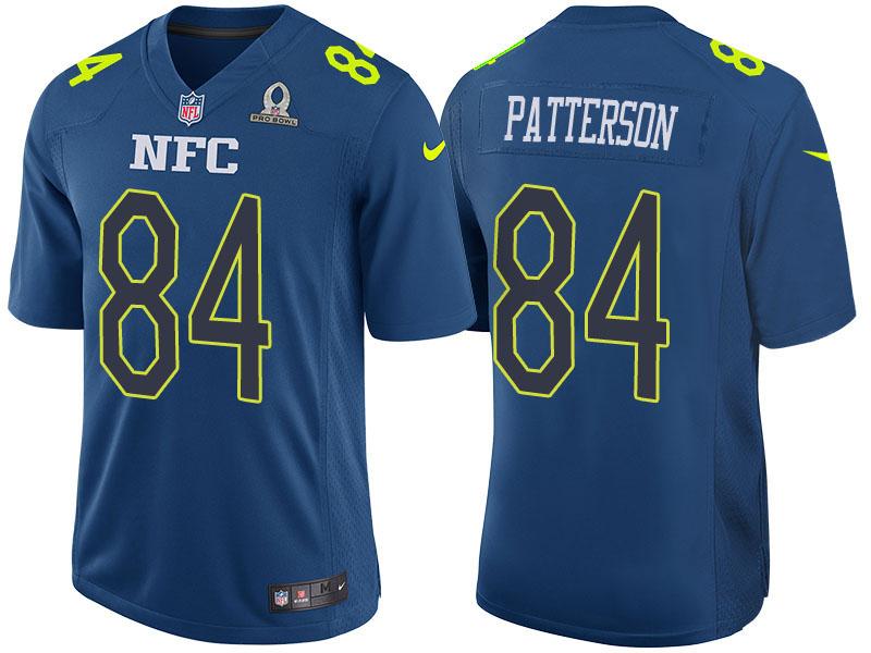 Nike Vikings 84 Cordarrelle Patterson Blue 2017 Pro Bowl Game Jersey