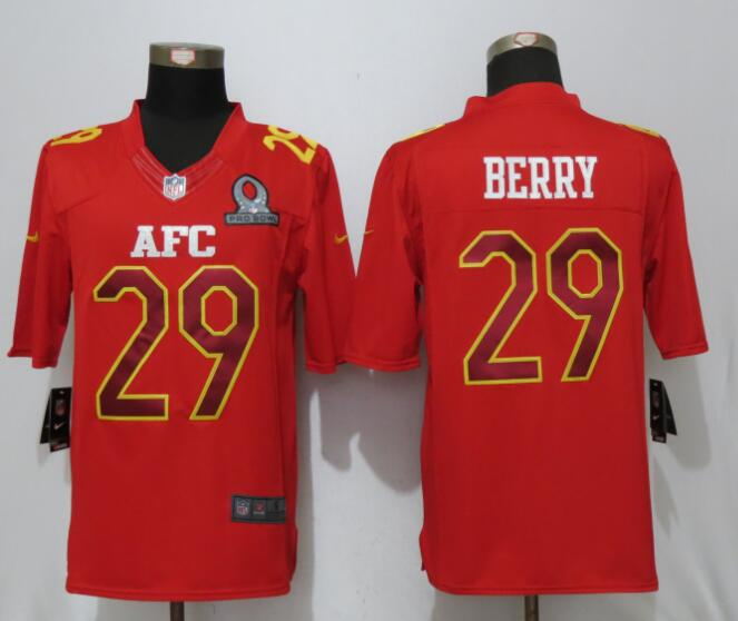 Nike Chiefs 29 Eric Berry Red 2017 Pro Bowl Limited Jersey