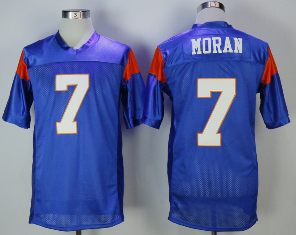 Blue Mountain State 7 Alex Morgan Blue Movie Football Jersey