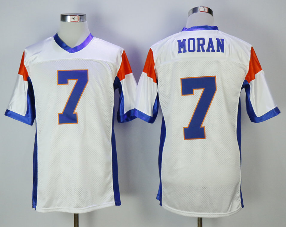 Blue Mountain State 7 Alex Morgan White Movie Football Jersey