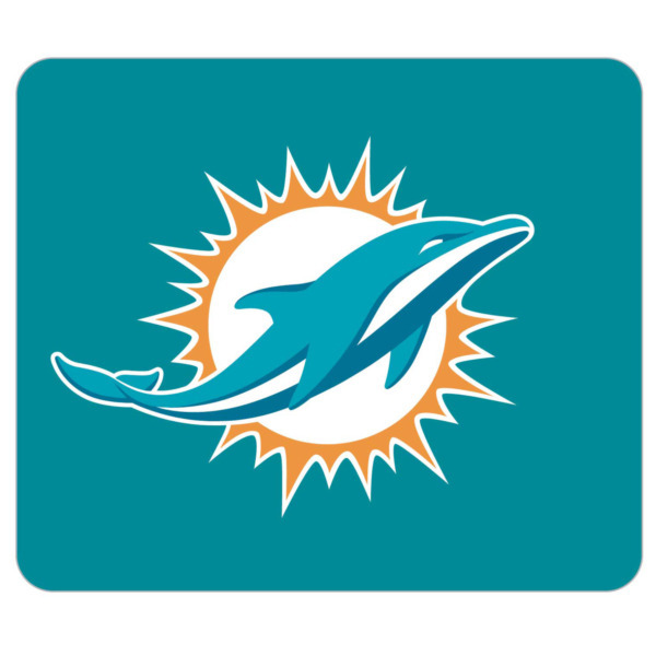 Miami Dolphins Aqua Gaming/Office NFL Mouse Pad