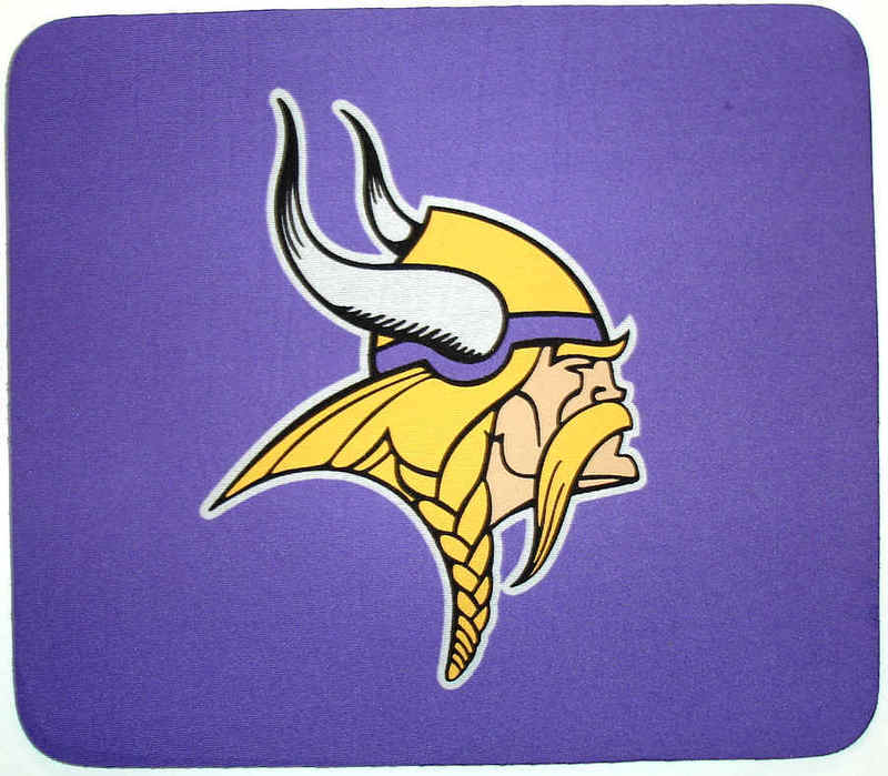 Minnesota Vikings Purple Gaming/Office NFL Mouse Pad