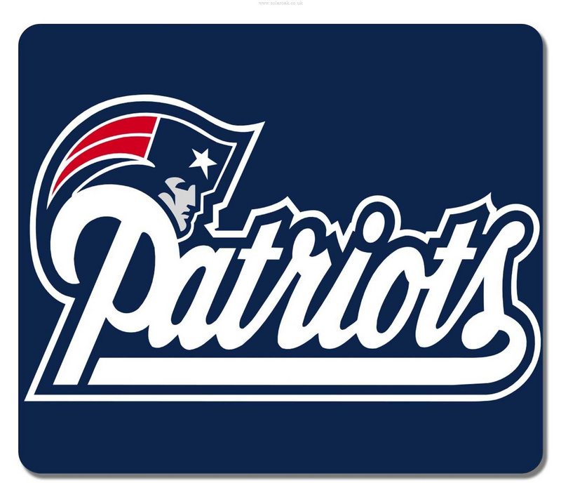 New England Patriots Navy Gaming/Office NFL Mouse Pad