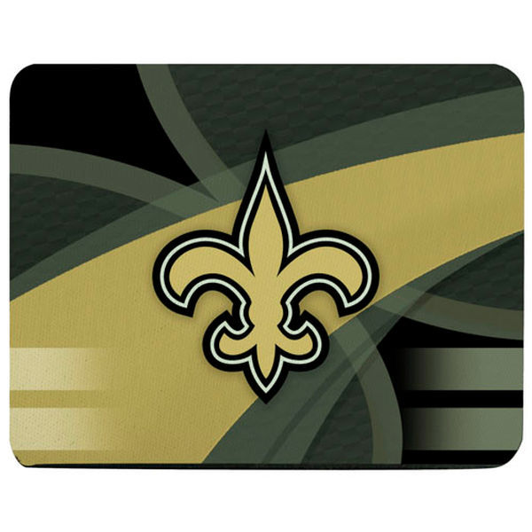 New Orleans Saints Gaming/Office NFL Mouse Pad2