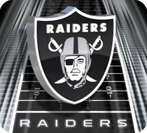 Oakland Raiders Gaming/Office NFL Mouse Pad