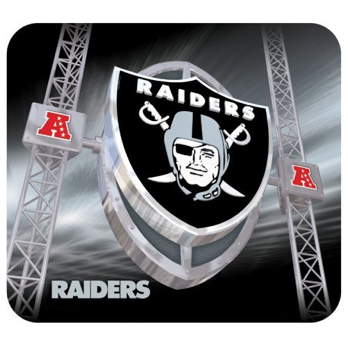 Oakland Raiders Gaming/Office NFL Mouse Pad2