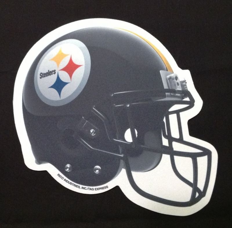 Pittsburgh Steelers Black Gaming/Office NFL Mouse Pad2