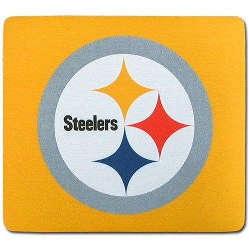 Pittsburgh Steelers Yellow Gaming/Office NFL Mouse Pad