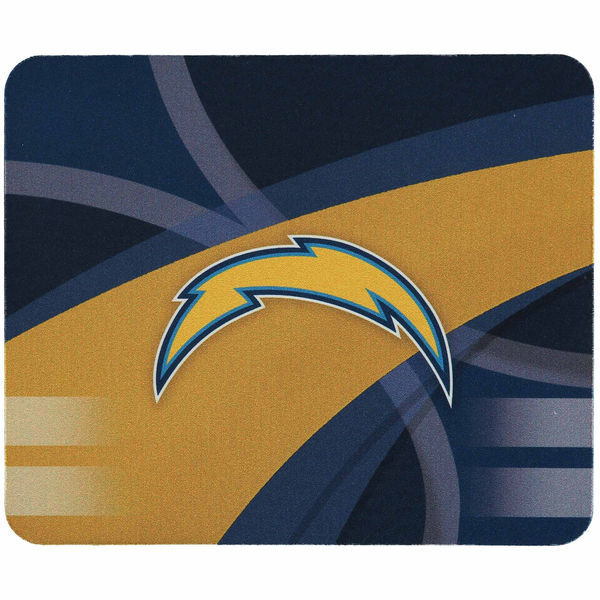 San Diego Chargers Gaming/Office NFL Mouse Pad2