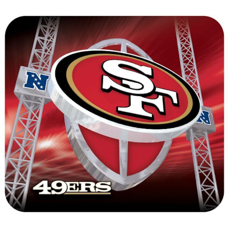 San Francisco 49ers Gaming/Office NFL Mouse Pad