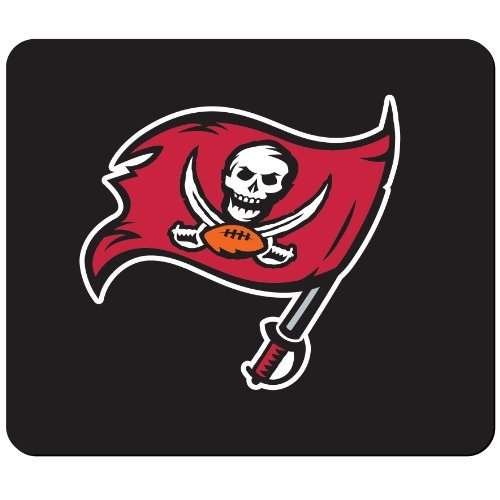 Tampa Bay Buccaneers Black Gaming/Office NFL Mouse Pad