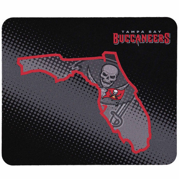 Tampa Bay Buccaneers Black Gaming/Office NFL Mouse Pad2