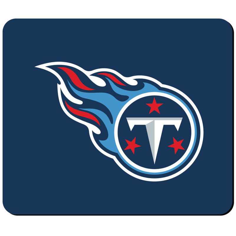 Tennessee Titans Navy Gaming/Office NFL Mouse Pad